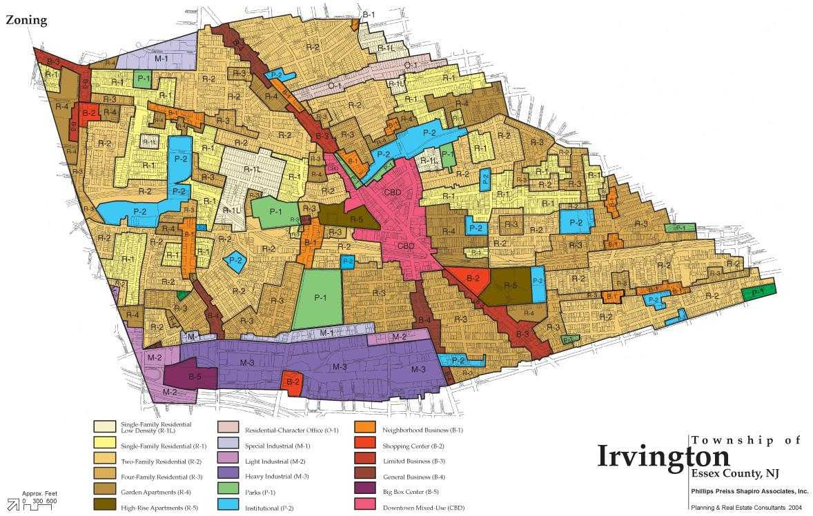 Color Zoning Map