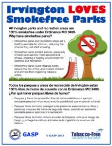 Irvington_Smoke_Free_Parks